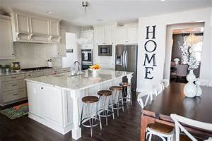 Glamorous beracah homes look denver traditional kitchen for Kitchen colors with white cabinets with large metal letter wall art