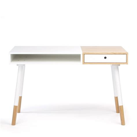table bureau blanc bureau design blanc sonnenblick par drawer fr