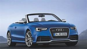 Audi U0026 39 S Rs5 Convertible Arrives Just In Time For Winter