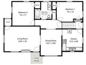 basic floor plan floor plans real estate photography floor plans