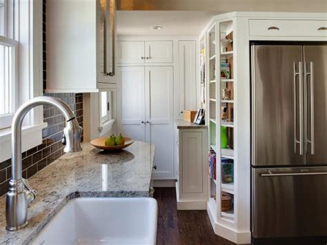 kitchen sink backs up into other side 8 small kitchen design ideas to try hgtv
