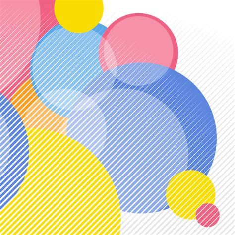 abstract circular elements background transparent png