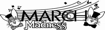 Madness March Text Illustration Advertising Title Rabbits