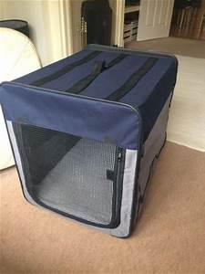 portable folding nylon crate for medium sized pet for sale With nylon collapsible dog crate