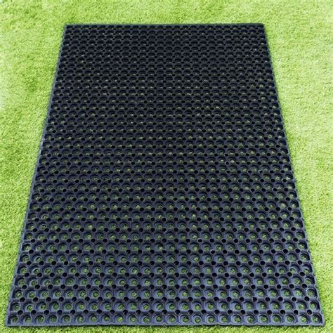 Grass Mats Uk - 16mm rubber grass protection mats 150cms x 100cms 6 4