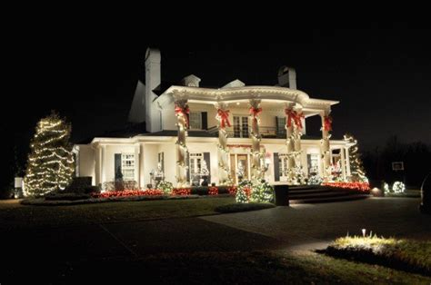 ideas for christmas lights on a ranch house the best 40 outdoor lighting ideas that will leave you breathless