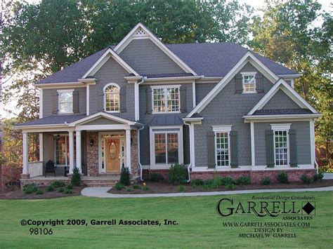traditional two house plans traditional craftsman style house plans unique garrell