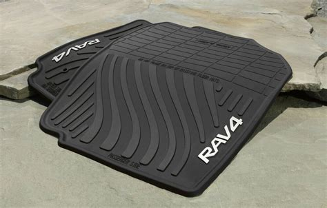 Toyota All Weather Floor Mats by Genuine Toyota Rubber All Weather Floor Mats For 2007 2012