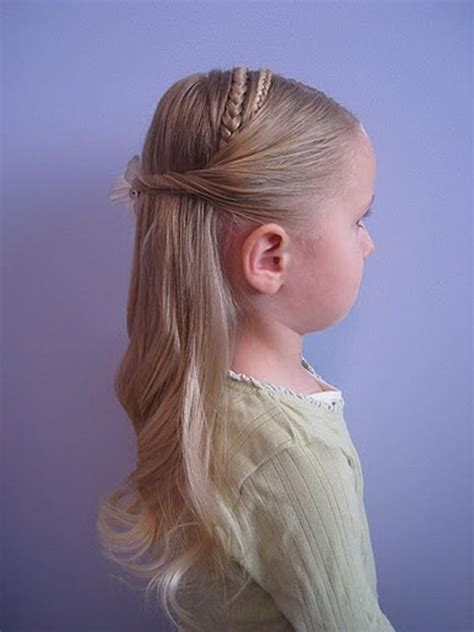 flower girl hairstyles hairstyles for women