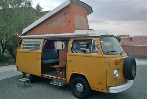1974 volkswagen bus 1974 volkswagen transporter westfalia type 2 cer van