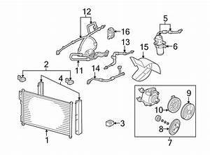Ford Expedition A  C Refrigerant Suction Hose