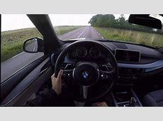 2017 BMW X5 F15 xDrive 30d POVtest drive acceleration