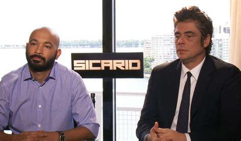 sicario toro del benicio star relieved feels shy reveals he miami cinemovie comments