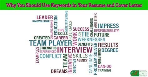 keywords   resume  cover letter