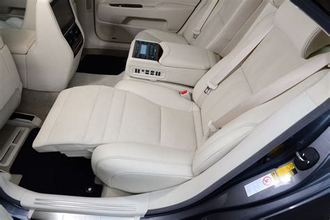 cars with reclining rear seats lexus ls review pictures auto express