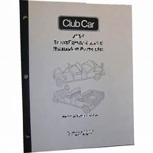 Gas Club Car Ds Service Manual  Fits 1981
