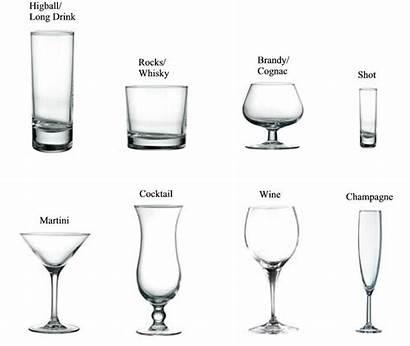 Types Glasses Drinking Liquor Drinks Drink Bar