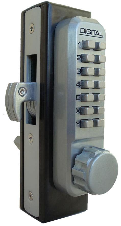 digital door lock lockey 2950 keyless mechanical digital mortised hook bolt