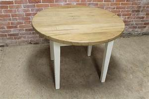 Round, Farm, Table, With, Drop, Leaves