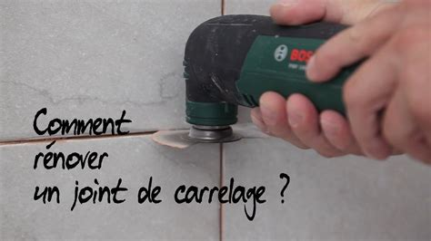 comment r 233 nover un joint de carrelage