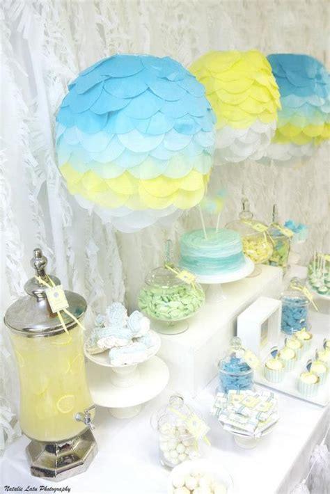 hot air balloon baby shower theme baby shower ideas