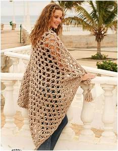 Spanish Wrap Shawl Blanket [Free Crochet] DIY