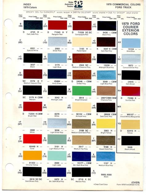 army green range rover auto paint codes 1978 79 bronco color codes