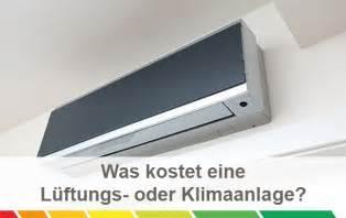 klimaanlage schlafzimmer kosten für klimaanlagen und lüftungsanlagen im überblick