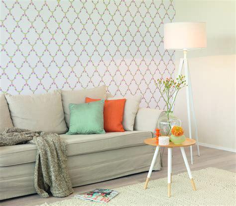 tapete küche landhaus tapete landhaus blumen grau anthrazit rasch textil tapeten fleur 3 285375