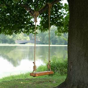 Reclaimed Floor Joist Tree Swing Terrain