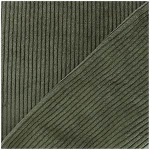 Pantalon Velours Homme Grosses Cotes : tissu velours grosses c tes kaki x10cm ma petite mercerie ~ Melissatoandfro.com Idées de Décoration