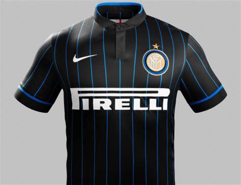 Inter de Milão (Internazionale) - Nike Home, Away e Third ...