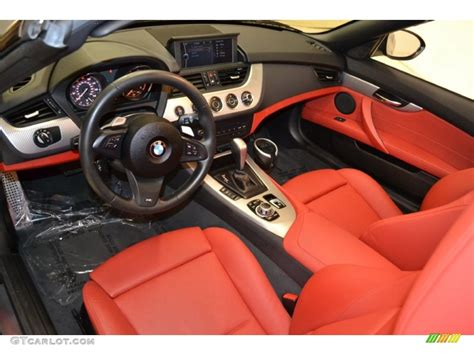 Coral Red Interior 2011 Bmw Z4 Sdrive30i Roadster Photo