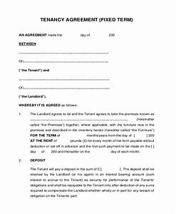 8 sample tenant agreement forms sample example format With landlord tenant contract template
