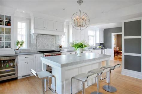 connected open kitchen design   dutch colonial style