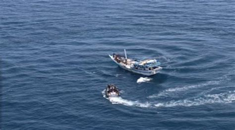 French Fishing Boat Attack by Us Navy Aids Iran Fishing Boat After Pirate Attack The