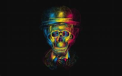 Skull Hat Wallpapers Creative Skulls Skeleton Background
