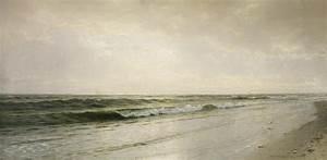 Quiet Seascape Painting by William Trost Richards