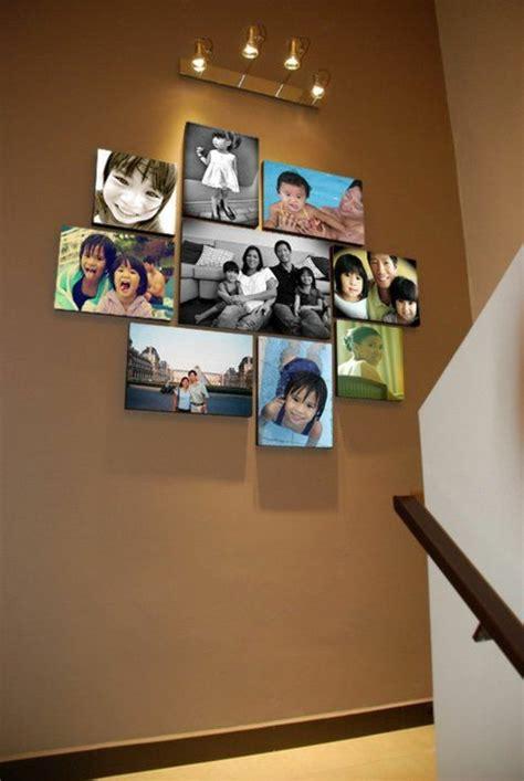 bilderwand selber machen 55 ausgefallene bilderwand und fotowand ideen archzine net
