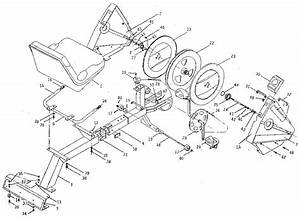 Tunturi Recumbent Exercise Cycle Parts