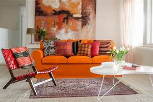 l39orange vitamine la deco maison creative With tapis yoga avec canapé orange cuir