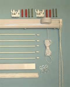 Roman Shade Hardware Kit