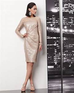champagne sequin wedding guest dress onewedcom With champagne dress for wedding guest