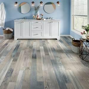 bathroom flooring guide armstrong flooring residential With blue sky bathroom tile floor decoration