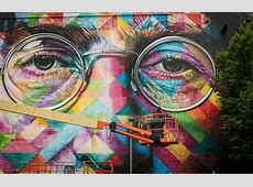 See the incredible work from Europe's largest street art
