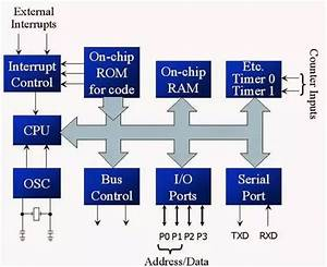 What Is Internal Structure Of A Microcontroller