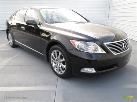 black lexus 2007 2007 obsidian black lexus ls 460 l 72245692 photo 32