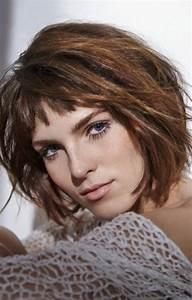 Coiffure Carre Plongeant : coiffure carre plongeant femme 2018 ~ Nature-et-papiers.com Idées de Décoration