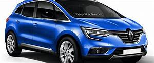 2017 Renault Scenic Accurately Rendered Autoevolution