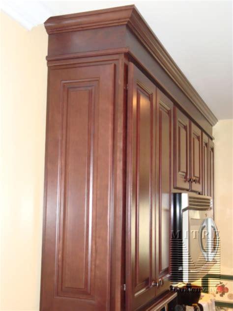 cabinet finished end panels adding raised panel cabinet quot panels quot to end finish